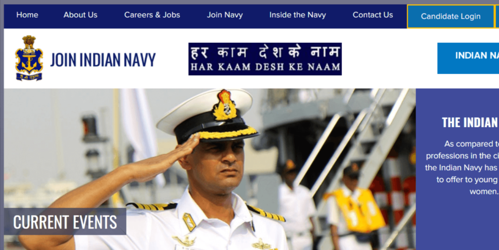 Indian Navy Recruitment 2021 – Apply Online For Latest 50 SSC General Service (GS/X) and Hydro Cadre Vacancies - Govt Apply