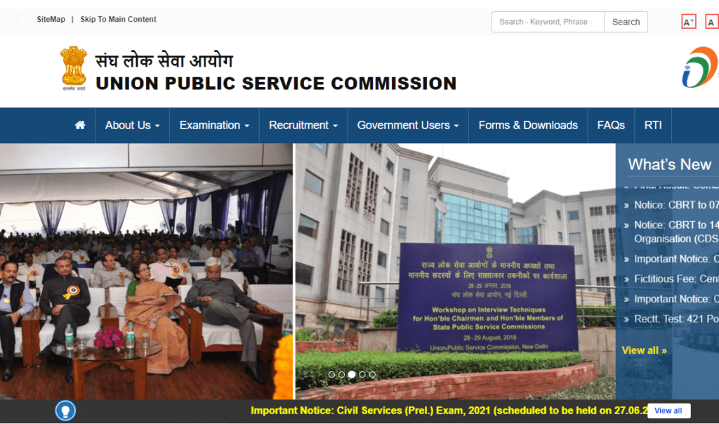 UPSC NDA Recruitment 2021 – Apply Online For Latest 400 National Defence Academy & Naval Academy Examination Vacancies - Govt Apply